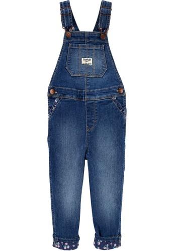 Oshkosh B'gosh blue OSH KOSH Girl Gemma Wash Overall 31544KA5C522AEGS_1
