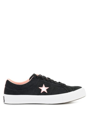 Converse black One Star 258AFSH1424886GS_1