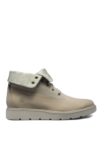 Timberland grey Kenniston Roll-Top Boots 8513DSH6D77C84GS_1