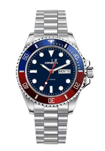 Condotti black and red and silver Jam Tangan Automatic Pria Condotti Tagliamento CN1137A-BLR04-S02 D2006ACE775330GS_1