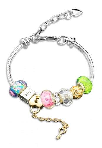 Her Jewellery silver Her Jewellery Colorful Charm Bracelet (Green) 4656EACC35D125GS_1