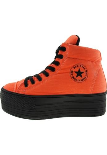 Maxstar Maxstar Women's C50 Padded Lining Hidden Heel Platform Canvas Sneakers US Women Size MA168SH89BYWHK_1