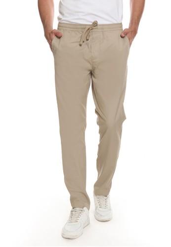 Men's Top brown XAVIO-KHAKI Trouser 3DFDFAA2228768GS_1