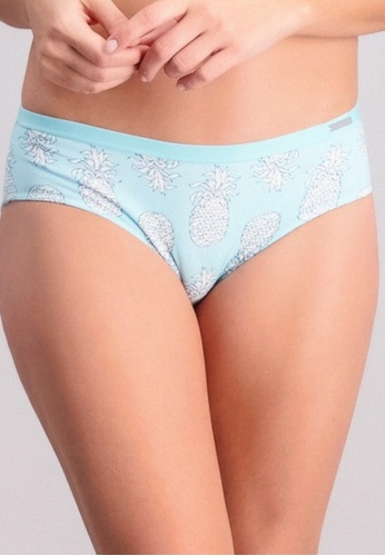 BENCH blue Low Rise Hipster Panties F247BUSBF43CD7GS_1