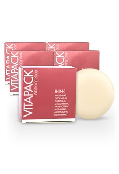 Buy 4 Get 1 FREE Vitapack Whitening Soap