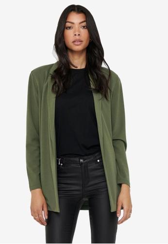 JACQUELINE DE YONG green Geggo Long Sleeves Blazer 7DF46AAA78BFFAGS_1