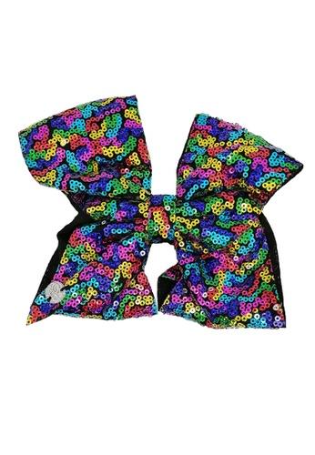 Jojo Siwa Jojo Siwa Bow With Clip (Rainbow Sequin) 66C3EKC3271369GS_1