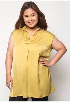 Brea S/L Plus Size Top