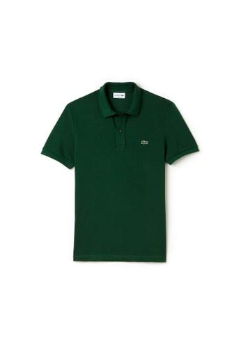 Lacoste green Lacoste Men's Mini Pique Stretch Polo 69FE6AA5834917GS_1
