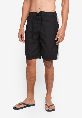 Superdry black Superdry Panel Boardshorts DCD69USBD009A1GS_1