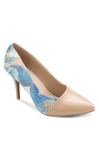 esprit手錶專櫃Olivia 尖頭中跟鞋, 女鞋, 鞋
