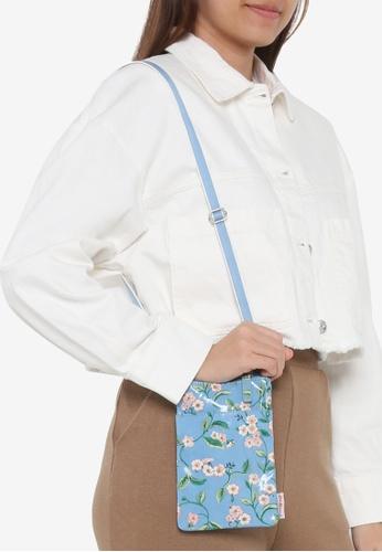 Cath Kidston blue Forget Me Not Essentials Mini Cross Body Bag 644DDAC9FFA28BGS_1