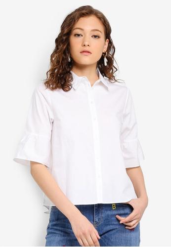 SCOTCH & SODA 白色 襯衫 9F9A1AA0584B8BGS_1