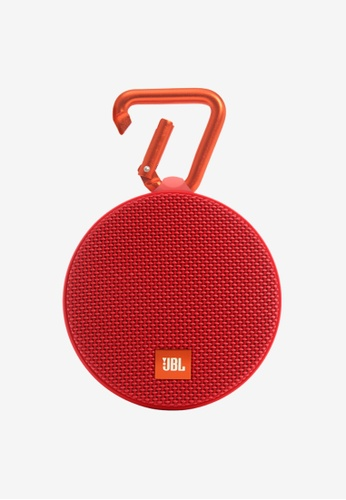 JBL red JBL CLIP 2 Portable Bluetooth Speaker 1A584ACDDC9417GS_1