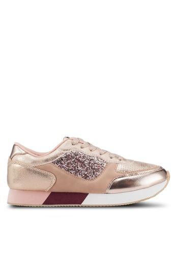 ONLY 粉紅色 休閒運動鞋 C5F5BSHE9F044DGS_1