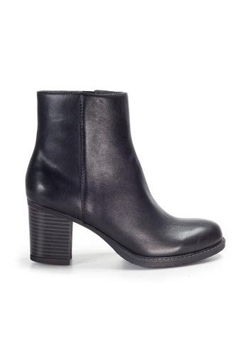 Shu Talk black Amaztep Classic Calf Leather Mid calf Boots 8D875SH2DFB574GS_1
