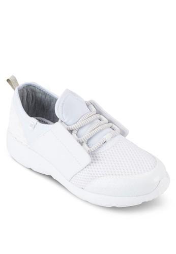 Skilzalora 手錶l 網孔材質拼接運動鞋, 女鞋, 鞋