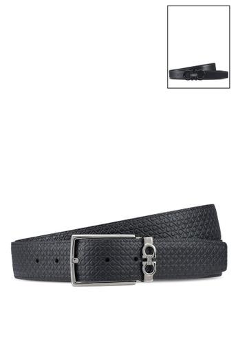 Ferragamo black Gancini Belt Box (zt) 8DDE7ACEB4E49EGS_1