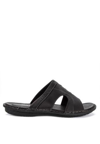 Italianos black Kev Slip Ons 09788SH563FADDGS_1