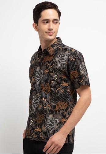 bhatara batik black and grey RAY SHIRT 151D4AA39A5C03GS_1