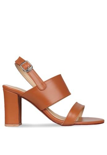 CLAYMORE brown Claymore High Heels WA 02 Tan CL635SH0VAPHID_1