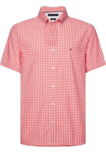 Tommy Hilfiger TOMMY HILFIGER CLASSIC GINGHAM SHORT SLEEVE SHIRT 315CEAA474DFC9GS_1