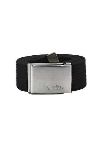 Fjallraven black Fjallraven Canvas Belt Black A4B8AAC0ED2ACDGS_1