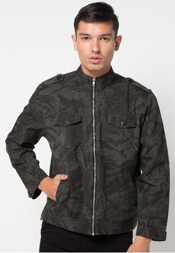 DocDenim black Jacket Camo Charcoal 55CC2AA310ED25GS_1