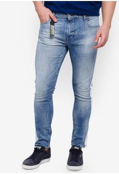 de678fafe3a60 Guess blue Guess Classic Five Pockets Slim Fit Jeans EAB5EAA865B52BGS 1