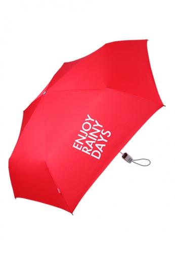 OFESS ON LINE red Ofess Basic B (Red) Umbrella OF346AC30WMVHK_1