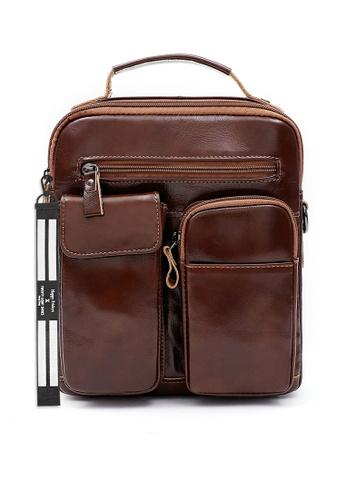 Twenty Eight Shoes Handmade Vintage Leather Sling Bag QYE6511 52CC4AC644953CGS_1