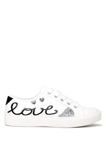 London Rag 白色 London Rag 女士黑色休闲鞋 SH1662 93653SHFABB03DGS_1