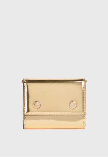 Tocco Toscano gold Holly III Bifold Cardholder (Gold) C24B3ACC566F03GS_1