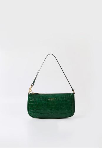 BERACAMY green BERACAMY CLARA Wristlet Clutch - Embossed Emerald 60E78AC11F5E6EGS_1
