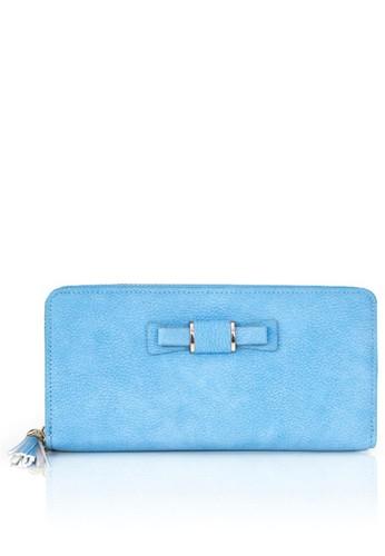 VERNYX blue Blue Cardella Long Wallet 41230AC01C5DE3GS_1