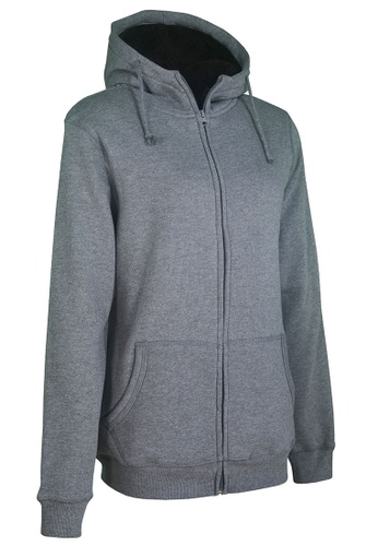 Universal Traveller grey Universal Traveller Adult Unisex Fleece Jacket / SWEATER - GREY- FJ 5605 UN858AA0RBR2MY_1
