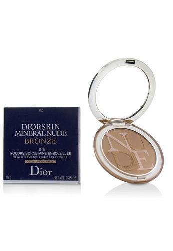 christian dior CHRISTIAN DIOR - Diorskin Mineral Nude Bronze Healthy Glow Bronzing Powder - # 02 Soft Sunlight 10g/0.35oz 74A76BE633979DGS_1