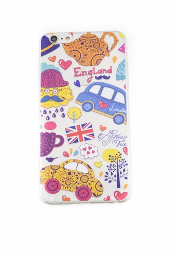 Fancy Cellphone Cases multi London Soft Transparent Case for iPhone 6plus/6splus FA644AC86MRLPH_1