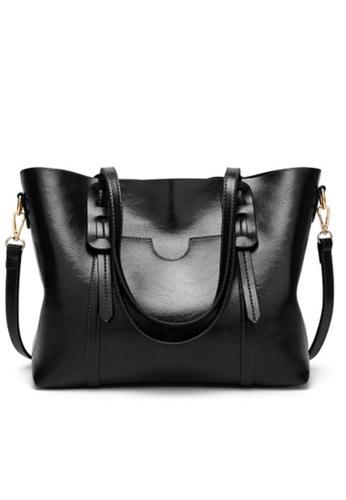Halo black Vintage Three Way Crossbody Bag A0F44AC38BAF1BGS_1