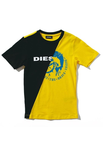 Diesel Dual color T-shirt 97441KACD01665GS_1