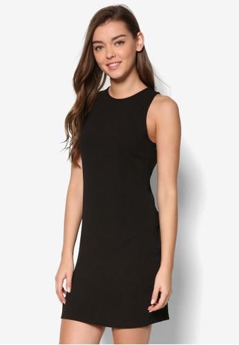 Essential 簡約無袖連身裙、 服飾、 正式洋裝ZALORAEssential簡約無袖連身裙最新折價