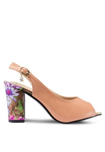 Berrybenka pink Narra Decha Heels D2980SHE36B0EFGS_1