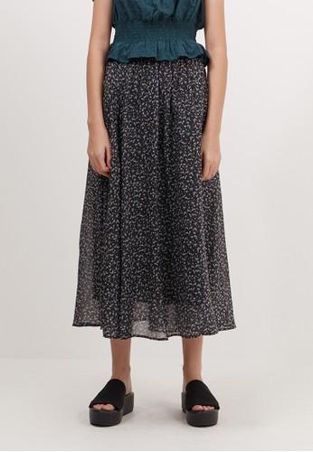 Bobo Tokyo black Karerra Skirt - Black 3AFD3AA1D73573GS_1