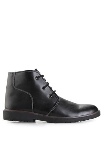 Dr. Kevin black Boots Shoes 1041 Leather DR982SH94MIJID_1