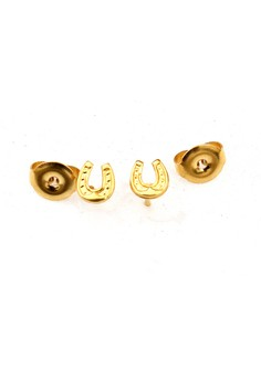 14K Gold Filled Horseshoe Earrings