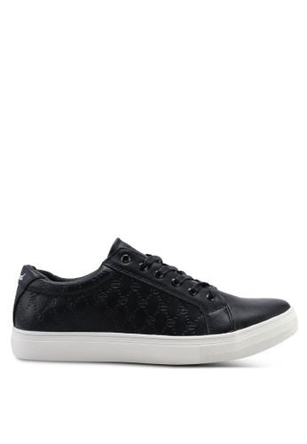 High Cultured black Logo Sneakers-340 FE7E2SH98802FBGS_1