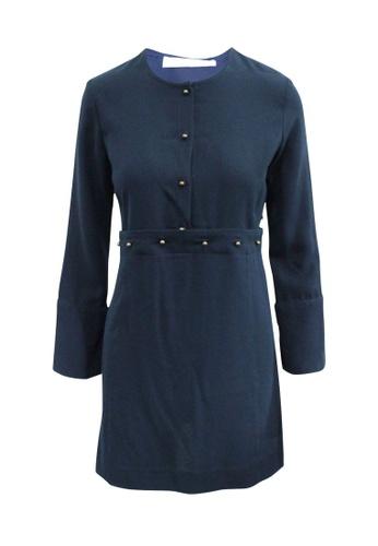 SEE BY CHLOÉ 藍色 see by chloé 海軍藍連衣裙 60805AA72866F1GS_1