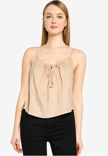 Cotton On brown Summer Vibes Relaxed Cami 9CD17AA917E43FGS_1
