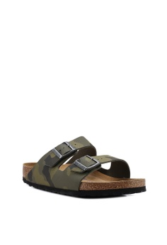 37aed9373793 Birkenstock Arizona Desert Soil Camou Soft Footbed Sandals S  149.00. Sizes  40 42 43
