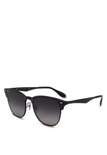 Ray-Ban black RB3576N Sunglasses FB515GLB70D4C1GS_1